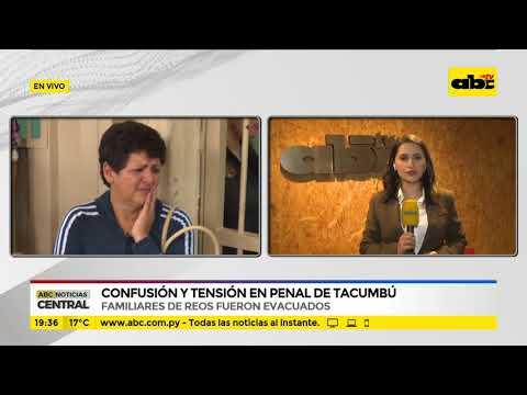 Confusión y tensión en el penal de Tacumbú