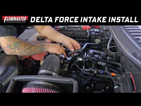 2015-18 Ford F-150 5.0L - Install: Delta Force Cold Air Intake 615147