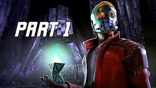 Guardians of the Galaxy Walkthrough Part 1 - Episode 1 Tangled Up in Blue (Telltale Let's Play)