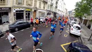 preview picture of video 'Semi-Marathon International de Nice 2014'