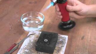 Art Jewelry - Fusing Metal With A Torch