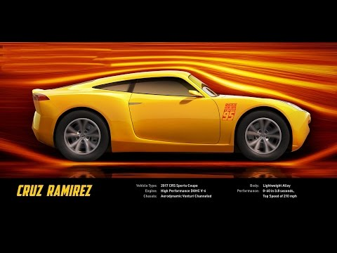 Meet Cruz Ramirez   DisneyPixar's Cars 3