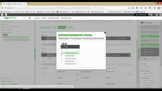 Purchase Invoices in Sage x3