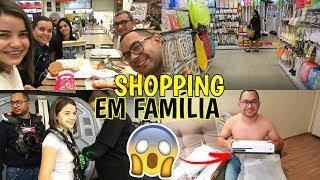 SHOPPING EM FAMÍLIA, MARIDO COMPROU XBOX ONE, COMPRINHAS ♥ - Bruna Paula
