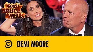 Parece Un Pene Lo Mires Por Donde Lo Mires | Demi Moore | Roast De Bruce Willis | Comedy Central