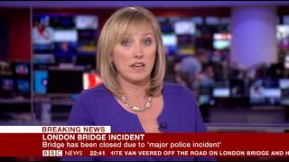 BBC Breaking News - 03/06/17 London attack part 1 (10.30pm to 11.10pm)