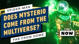 Does the New Spider-Man Trailer Open Up the Marvel Multiverse? - IGN Now