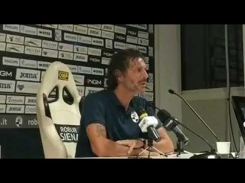 Mister Dal Canto in Robur Siena-Mantova 0-2, Coppa Italia