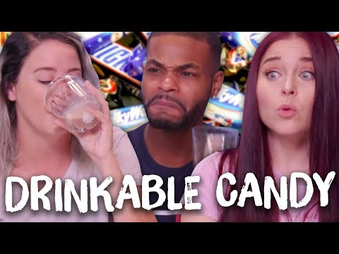 Drinkable Candy Bars w/ KING BACH! (Cheat Day)