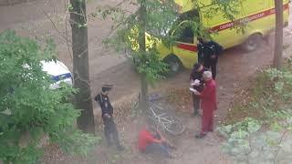 Пьяный велосипедист и полиция. Часть 2