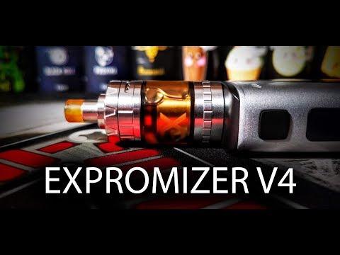 YouTube Video zu Exvape Expromizer V4 MTL Selbstwickelverdampfer 2 ml