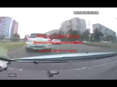 Погоня полиции за вооруженным водителем в Краснодаре