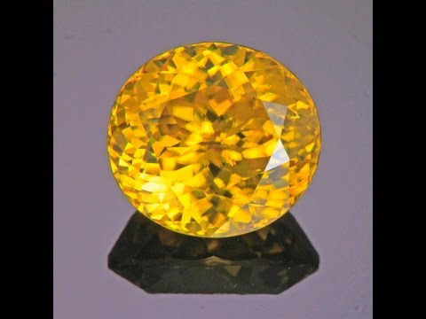 Yellow Zircon 9.15 Carats