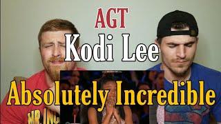 Kodi Lee: Blind Autistic Singer gets GOLDEN BUZZER! {{REACTION}}