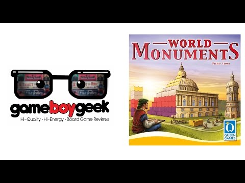 The Game Boy Geek Reviews World Monuments