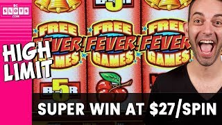 😱 $27/Spin & 🔥 SUPER Win 🤪 Quick Hit Wild Red ✦ BCSlots
