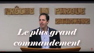 LE PLUS GRAND COMMANDEMENT