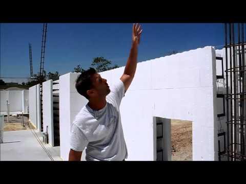 Fox Blocks and Simple Concrete Column Integration