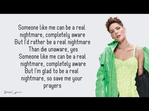 Halsey - Nightmare (Lyrics) 🎵