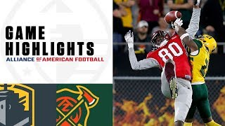 San Antonio Commanders vs. Arizona Hotshots | AAF Week 5 Game Highlights