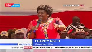 Governor Ngilu lauds CS Tobiko\'s efforts of protecting Mau forest and conserving it for prosperity