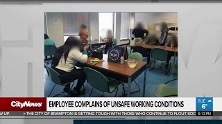 Employee complains of unsafe working conditions