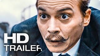 MORTDECAI Trailer Deutsch German (2015) Johnny Depp