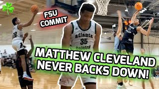 FSU Commit Matthew Cleveland Proved He's Still UNDERRATED This Summer! Full 2020 AAU Highlights 🍿