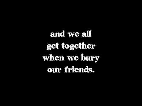 Kill All Your Friends - My Chemical Romance (Lyrics Video)