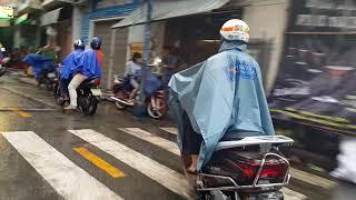 Sài Gòn, Quận 10,Tân Bình, VietNam, chiều mưa 21.9.2017