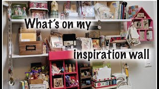 Whats On My Inspiration Wall