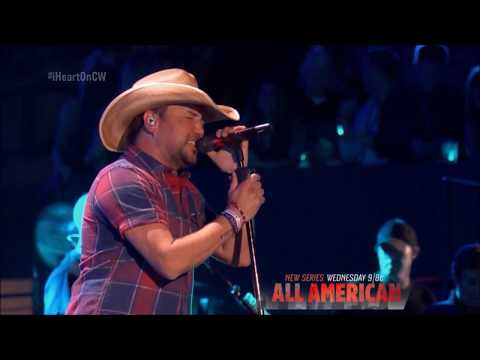 "Jason Aldean sings ""You Make it Easy"" Live in concert iHeartradio 2018 HD 1080p"