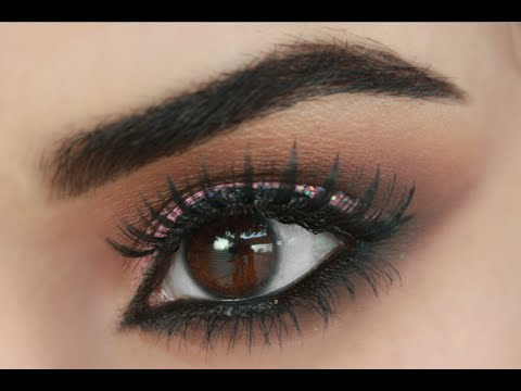 HOW TO MAKE BROWN EYES POP! BROWN SMOKEY EYE