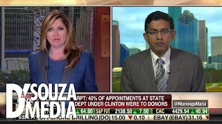 Fox Business: D'Souza Tears Apart Clinton Lies