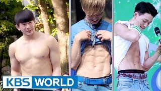 Wrestling team's special way of revealing abs [Guesthouse Daughters / 2017.05.16]