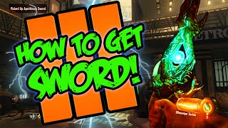 """Black Ops 3 """"Shadows of Evil"""" - HOW TO BUILD THE LIGHTNING SWORD TUTORIAL! (Black Ops 3 Zombies)"""