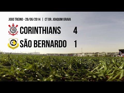 Gols - Corinthians 4x1 São Bernardo