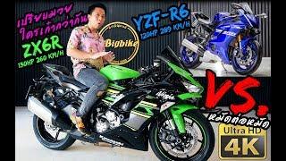 ทำไม ZX6R ถึงแรงกว่า แต่ R6 ถึงเร็วกว่า | รีวิวเป็นจุดๆกันไปเลย Superbike 600cc.