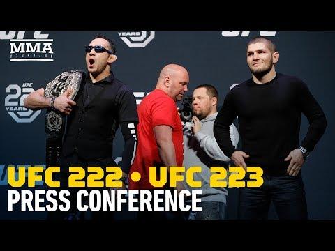 UFC 222, UFC 223 Press Conference in Boston