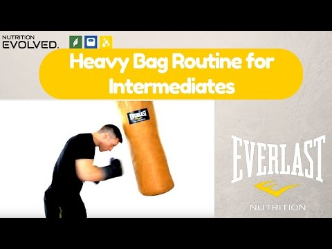 An Intermediate  Heavy Bag Routine