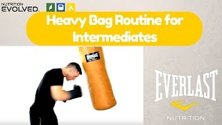 An Intermediate Heavy Bag Routine by Fight your way Fit