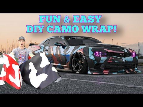 Easy & Fun DIY Camo Wrap