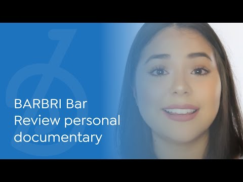 BARBRI Bar Review testimonial and personal documentary from ...