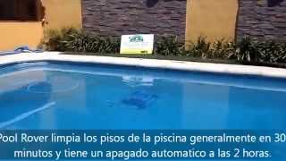 preview picture of video 'Aquabot Pool Rover En Impacto Terminaciones de Obra Lobos'
