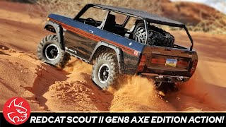 Redcat Gen8 Axe Edition 1/10 Scale RC Scale Crawler