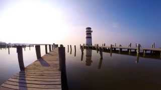 preview picture of video 'Podersdorf am See- lighthouse in morning'
