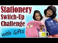Mystery BOX - Stationery SWITCH-UP Challenge | #Fun #Kids #CuteSisters