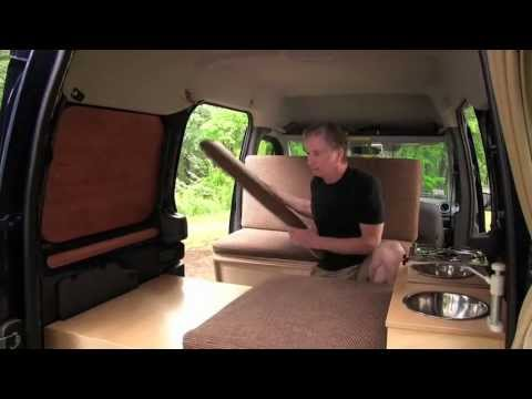 Woodworker Mods Ford Transit Into Camper Van Boing Boing