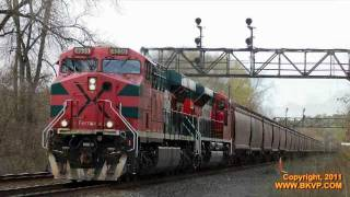 preview picture of video 'CSX G344 at Fonda, NY'
