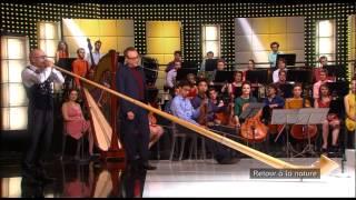 La boite à musique de JF Zygel, l'instrument rare, le cor des alpes par Alexandre Jous